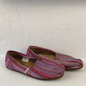 BOBS striped shoes Sketchers comfy  slip-ons
